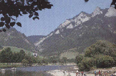 National park of Pieniny(14059 bytes)